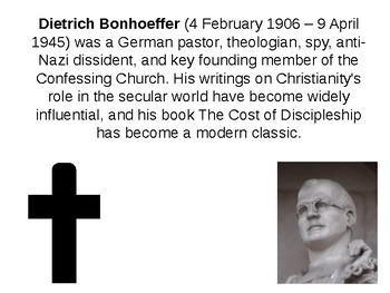 Dietrich Bonhoeffer Informative Guide