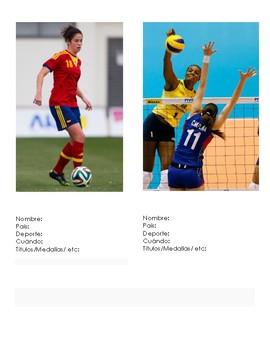 Diez Atletas Latinas Famosas