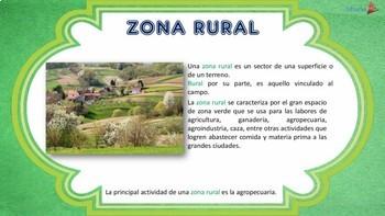 Diferencia Entre Zona Rural y Urbana