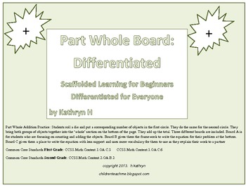 Diferentiated Part Whole Boards