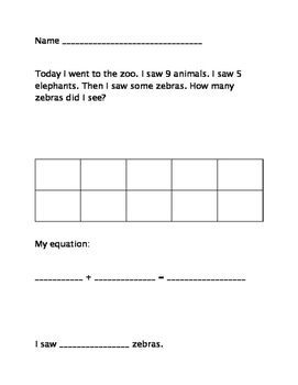 Diferentiated Zoo Problem Solving