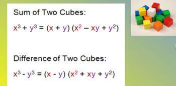 Difference and Sum of Two Cubes Made Easy!!!   KEEP IT, CHANGE IT, PLUS IT!!!