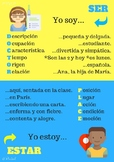 Difference between SER y ESTAR (Infografía)