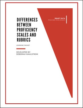 Differences Between Proficiency Scales and Rubrics