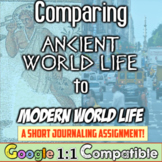 Differences in Daily Life: Comparing the Ancient World to the Modern World