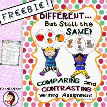 Different...But Still The Same Compare and Contrast Free Rubric Sample