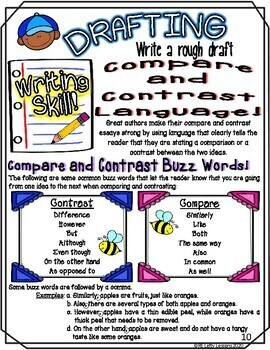 Different...But Still The Same - Comparing and Contrasting in Writing Booklet