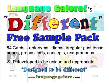 Different Cards Free Sample