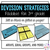 Different Division Strategies Foldable!