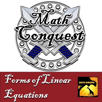 Different Forms of Linear Equations - Conquest Game