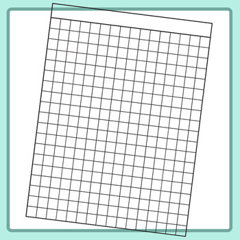 Different Gauge / Size Graph Paper / Worksheet Templates Clip Art Set