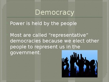 Different Government Types PowerPoint
