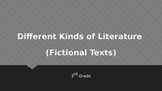 Different Kinds of Literature