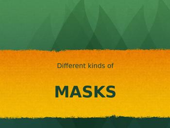 Different Kinds of Masks