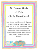 Different Kinds of Pets Cards