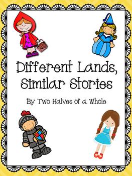 Different Lands Similar Stories: Common Core Aligned (Domain 3)