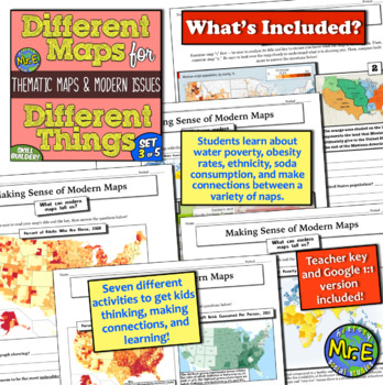 Different Maps for Different Things: Thematic Maps and Modern Issues!