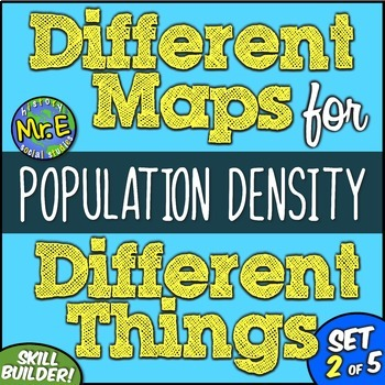 Different Maps for Different Things: A Population Density