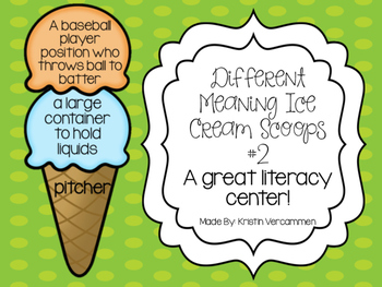 Different Meaning Ice Cream Scoops #2
