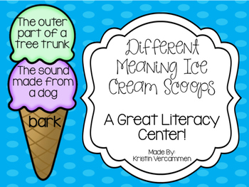 Different Meaning Ice Cream Scoops