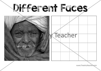 Different People Grid Drawings