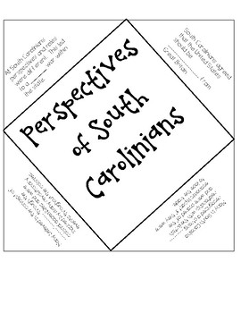 Different Perspectives of South Carolinians