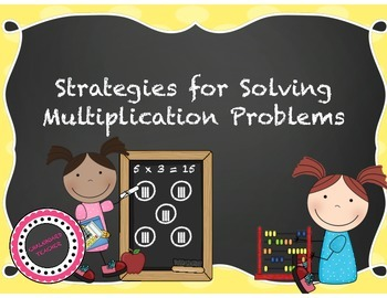 Different Strategies to Solve Multiplication Problems