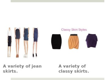 Different Styles Of Clothing