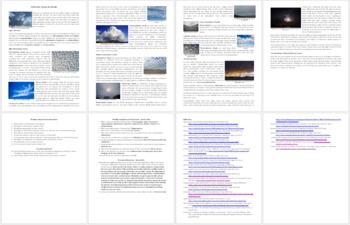 The Different Types of Clouds - Reading Article - Grade 8 and Up