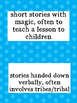 Different Types of Fiction Flashcards (Genres & Definitions)
