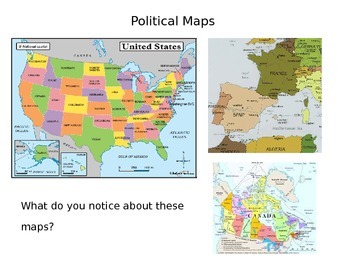 Different Types of Maps