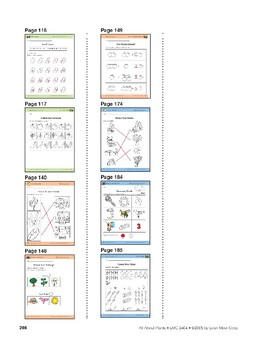 Different Types of Plants: Language and Math Activities