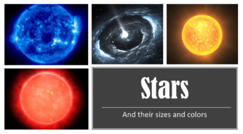 Different Types of Stars