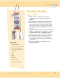 Different Types of Weather: Art and Cooking Activities