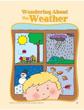 Different Types of Weather: Circle-Time Book