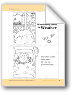 Different Types of Weather: Take-Home Book
