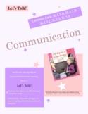 Different Ways To Communicate SL.1.1.A, SL.1.1.B, .SL.1.1.