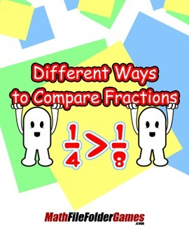 Different Ways to Compare Fractions {Math Game}