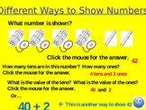 Different Ways to Show Numbers