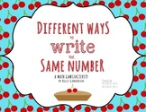 Different Ways to Write the Same Number Game