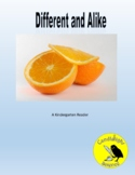 Different and Alike - Science Informational Text