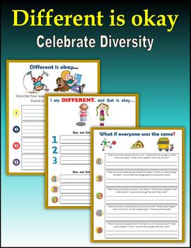 Different is Okay (Celebrate Diversity)