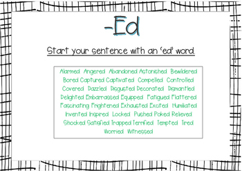 Different sentence types