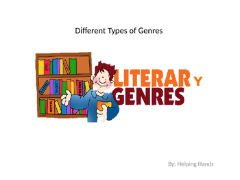 Different types of Genres