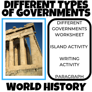 Governments of the World: World History US History Geography
