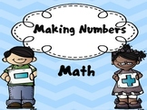 Different ways to make numbers! (Numbers 5- 100) Morning warm up...Math warmup