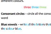 Different ways to practice spelling words