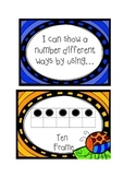 Different ways to show a number (Primary)-Common Core