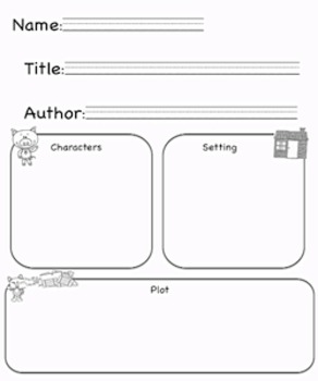 Differentiated Retelling/ Comprehension books and Graphic Organizers