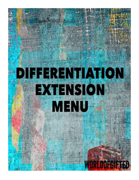 Differentation Extension Menu